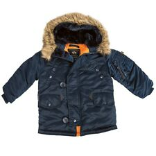 Alpha Industries Youth N-3B Parka 5 Colors YJN44500C1
