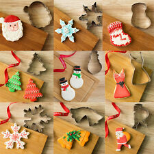 Cute Cake Cookie Biscuit Fondant Pastry Metal Cutter Mould Baking DIY Decorating