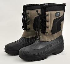 """LABO Men's Black/Grey 10"""" Winter Snow Work Boots Shoes Waterproof Insulated 620"""