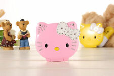 2016 New Mini Small Cute Cartoon Flip Hello Kitty Student Child Mobile Phone MP3