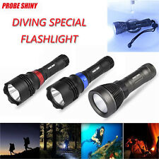 Underwater 500M 5000LM CREE XM-L T6 LED Diving Flashlight Waterproof Torch Light