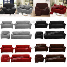 Fit Sofa Couch Slip Covers Loveseat Covers Lounge Protector 1 2 3 4 Seater