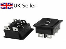 6Pin DPDT ON-OFF-ON 3Position Snap in Rocker Switch 15A/250V 20A/125V AC 1141