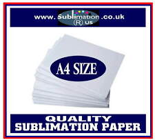 50 or 100 sheets SUBLIMATION PAPER A4 SIZE printing mugs t-shirts iPhone covers