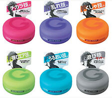 Mandom Japan Gatsby Moving Rubber hair styling wax 80g New WHOLESALE