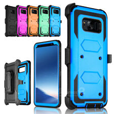 For Samsung Galaxy S7 edge Note 5 Holster Belt Clip Shockproof Rugged Case Cover