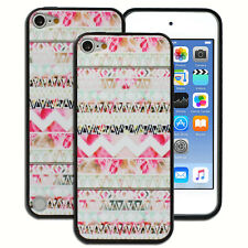 NEW Pink Floral Aztec Hard Case for Apple iPod Touch 5 5th 6 6th Gen Cover