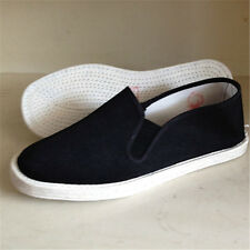 Mens Chinese Martial Art Kung Fu Tai Chi Cotton Casual Slipper Sneakers Shoes