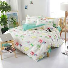 Elephant Twin Double Queen King Bed Set Pillowcases Quilt Duvet Cover Ous