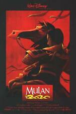 Mulan Final Orig Movie Poster Dbl Sided 27x40