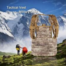 Outdoor Tactical Vest Chest Rig Modular Military Gear Repellent Protective Q6Z9
