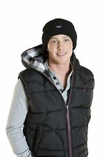Mens Danny Warm Winter Thermal Thinsulate 3M Insulated Beanie Hat