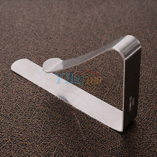 New Style Useful Table Cloth Stainless Steel Tablecloth Clip Clamp Holder Party