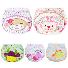 Baby Cotton Training Pants Reusable Cloth Washable Infant Nappies Diaper Luxury