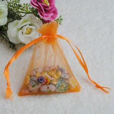 25/50/100Pcs 7 x 9 cm Organza Jewelry Candy Gift Pouch Bags Wedding Xmas Favors