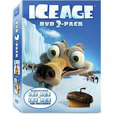 Ice Age 2-Pack - Ice Age 1 and 2 (Ray Romano, Denis Leary) ** LIKE NEW **