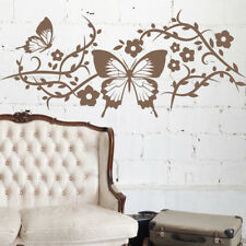 Butterfly And Flower Butterflies & Insect Wall Stickers Home Decor Art Decals