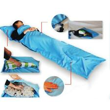 Portable Single Liner Silk Inner Travel Camping Sleeping Bag Hostel Sheet Sack