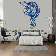 Lion Head Abstract Print Tribal Animals Wall Stickers Home Decor Art Decals