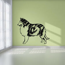 Collie Sheepdog Rough Coat Working Dogs Wall Stickers Home Decor Art Decals