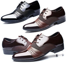 Men's Dress Formal Oxfords Leather shoes Business Dress Fashion Casual Shoes NEW