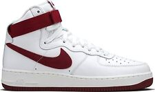 Nike Air Force 1 Hi Retro QS AF1 Team Red White 743546-106 Men's Shoes Sneakers