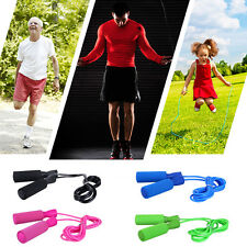 Speed Fitness Aerobic Exercise 3m Adjustable Boxing Skipping Jump Sport Rope