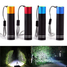 Mini Portable Super Bright Tactical LED Flashlight Pocket Flashlight Torch Light