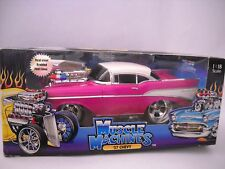 """'57 CHEVY THE ORIGINAL MUSCLE MACHINES """"CALIFORNIA TOO COOL"""" BLOWN"""