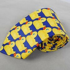 How I Met Your Mother HIMYM Barney&Marshall's Yellow Ducky Duckie Duck Tie Hot
