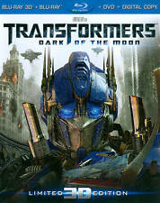 Transformers: Dark of the Moon (Blu-ray/DVD, 2012, 4-Disc Set, Ultimate Edition;