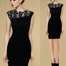 Elegant Women Casual Lace Short  Sleeve Sexy Party Evening Cocktail  Short Dress