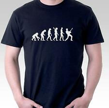 funny t shirt guitar player evolution music musician guitarist rock mens womens