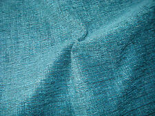 Heavy weight Teal Chenille Upholstery Fabric. 2,3.4 or 5 metres