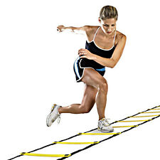 New 4M Soccer Agility Training Football Fitness Foot Speed Ladder + Carry Bag