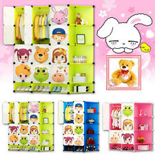 Kids 2017 New Character Design Cubes Wardrobe Childrens Storage Cabinet Boxes UK