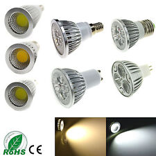 E27/E14/GU10/MR16 LED Spotlight Bulb 3W 4W 5W 6W 9W 12W 15W SMD/COB Lamp Light