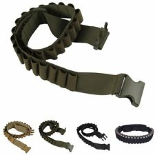 Tactical Shotgun Shell Belt Shotshell Holder Bandolier Ammo Hold 29 shells