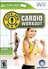 GOLD'S GYM CARDIO WORKOUT NINTENDO Wii BRAND NEW FREE SHIPPING
