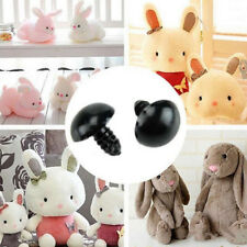 100pcs 6-10mm Black Plastic Doll Eyes Set Safety Eyes For Teddy Bear Doll DIY