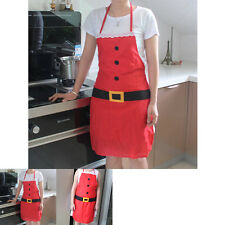 Adult Apron Christmas Holiday Gift Accessory Bib Chef Kitchen Cook Xmas Decor