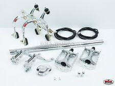 MX1000 - MX121 Tech 3 Package Deal In Silver - Old School BMX - Dia Compe