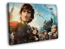 How To Train Your Dragon 2 2014 Movie Art FRAMED CANVAS WALL PRINT