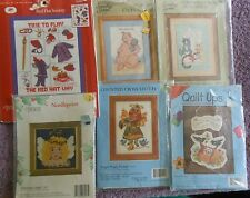CHOOSE ONE:CANDAMAR DESIGNS (COLORED) COUNTED CROSS STITCH KITS Picture/Quilt Up