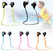 Bluetooth Wireless Sports Headset Noise Reduction Earphone for Smartphone