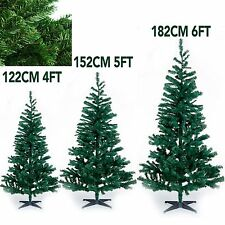 INDOOR/OUTDOOR GREEN ARTIFICIAL XMAS TREE DECORATION WITH STAND CHRISTMAS TREE
