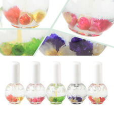 15ML Nail Cuticle Nutrition Replenishing Oil Rose Scent Dried Flower New Trendy