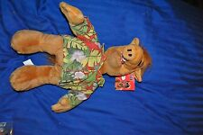 "ALF ALIEN PLUSH TOY NANCO 2002 STUFFED ANIMAL 20"" WILDFLOWER WITH ORIGINAL TAG"