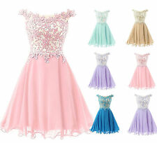 Short Wedding Bridesmaid Dress Evening Cocktail Dress Homecoming Party Prom Gown