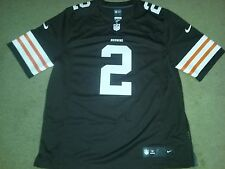 Nike Johnny Manziel Cleveland Browns Authentic Football Jersey Sewn 468918 252